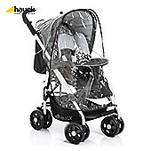 Hauck Condor All In One Pushchair, Caviar/Silver