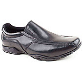 Hush Puppies Boys Bespoke 2 Black Slip-on Shoes