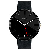Motorola Moto 360 Black Leather