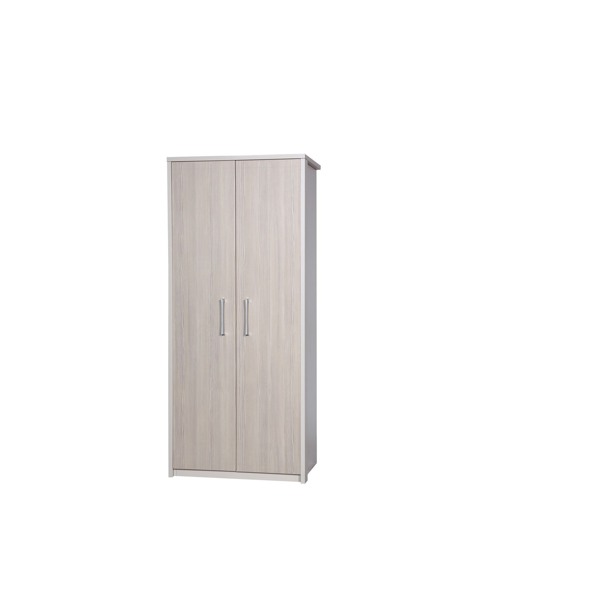 Alto Furniture Avola Double Wardrobe - Cream Carcass With Champagne Avola at Tesco Direct