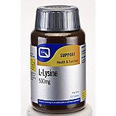 Quest Preventative L-Lysine 500mg 90 Capsules
