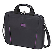 "Dicota Slim Case BASE Carrying Case for 39.6 cm (15.6"") Notebook - Black, Purple"