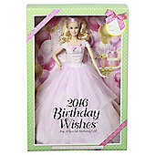 Barbie Birthday Wishes 2016 Doll Collector Pink Label