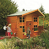 8 x 8 Deluxe Hideaway House Playhouse (2.48m x 2.48m)