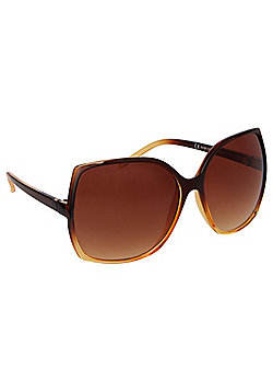 F&F Ombre Square Oversized Sunglasses