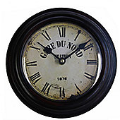 Wicker Valley Gare Du Nord Wall Clock
