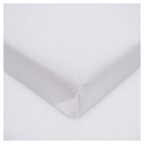Tesco Flat Sheet Kingsize White