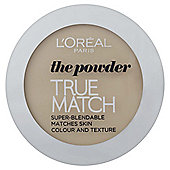 L'Oréal True Match Powder W3 Golden Beige 9g
