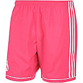 2014-15 Real Madrid Adidas Away Shorts - Pink