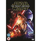Star Wars the Force Awakens DVD