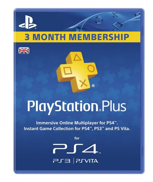 Cheapest PlayStation Plus 90 Day Membership Card (PS3  PS4) on PlayStation 4