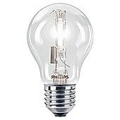 Philips EcoClassic Halogen A55 105 W E27 Edison Screw Warm White Light Bulb