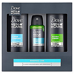 Dove M+C Essential Care Trio Gift Pack