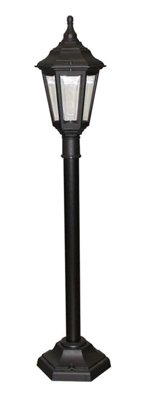 Elstead Lighting Kinsale 1 Light Outdoor Post Lantern in Black