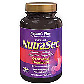 Natures Plus NutraSec 90 Chewable Tablets