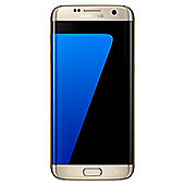 Tesco Mobile Samsung Galaxy S7 Edge Gold 32GB