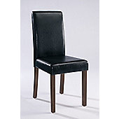 Home Zone Brompton Dining Chair (Set of 2) - Black