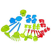 Tesco 25-Piece Sand Accessory Set