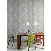 Graham & Brown Dove Wonky Boxes Wallpaper