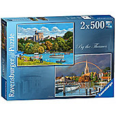 By The Thames - 2 x 500pc Puzzle