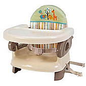 Summer Infant Deluxe Comfort Folding Booster Seat - Safari Stripe