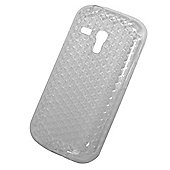 "Tortoiseâ""¢ Soft Gel Case Samsung Galaxy SIII Mini Honeycomb Clear"