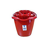 Mop Bucket - Red - 15L Litre