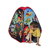 Disney Jake and the Neverland Pirates 4-Panel Play Tent