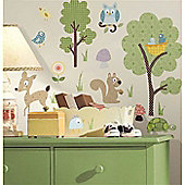 Woodland Animals Wall Stickers