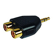 Maplin 3.5 mm Jack to Twin Phono Socket