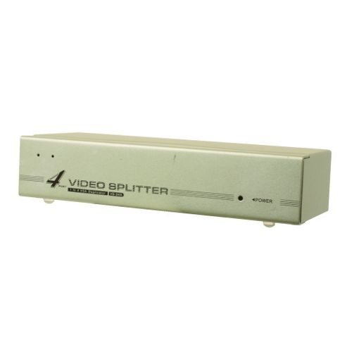 4 Port Way PC VGA SVGA Monitor Splitter Switch Box