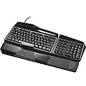 Mad Catz S.T.R.I.K.E.TE Wired Mechanical Gaming Keyboard for PC
