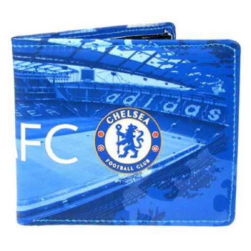 Chelsea FC Colour Design Wallet - Blue.