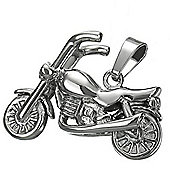 Urban Male Stainless Steel Motorcycle Pendant For Men