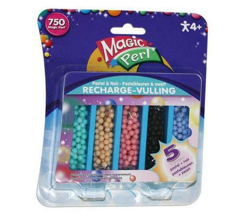 Crayola Magic Perl pastel and beads recharge pack Black