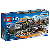 LEGO City 4x4 with Power boat 60085