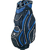 John Letters Unisex Torrance Golf Bag (Cart) in Black & Blue