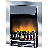 Dimplex Wynford Inset Fire - Chrome