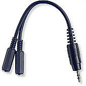 Stagg Small Mono Jack Dual Y Cable