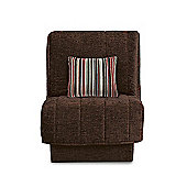 Leon Chairbed Chocolate