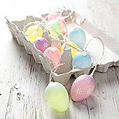 10 Pastel Easter Egg Battery LED Fairy Lights