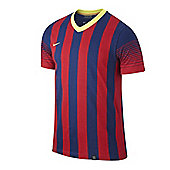 2013-14 Barcelona Nike Home Replica Tee - Blue