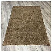 Ultimate Retro Shaggy Rug Taupe - 100x150cm