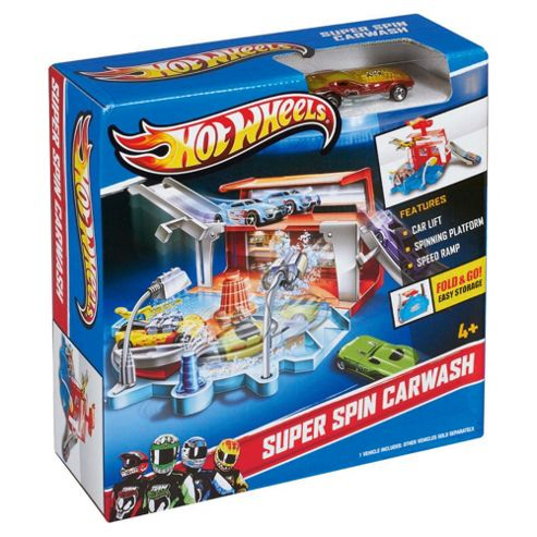 Hot Wheels Ready to Play Superspin Car Wash