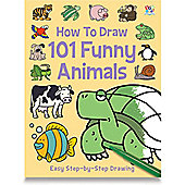 ELC How To Draw 101 Funny Animals Book