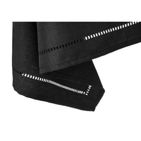 Blue Canyon Sienna Set Table Cloth - Black - 137cm x 183cm (4-6 Seatings)