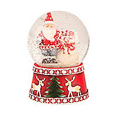 Santa Snow Globe - Christmas Decoration