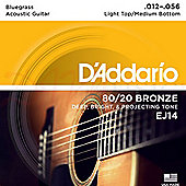 D'Addario 12-56 Acoustic Guitar Strings