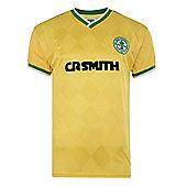 Celtic 1988 Centenary Away Shirt - Green & Yellow