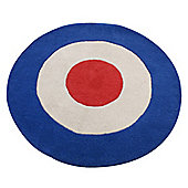 Bullseye Children's Rug